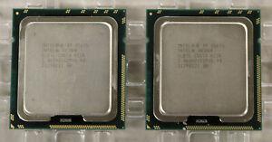 Intel Xeon X5675 SLBYL, 3.06GHz 6 core CPU Processor (LOT OF 2)
