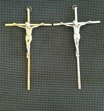 "METAL CRUCIFIX/ CRUCIFIJO DE METAL 8""×4"" 1/2."