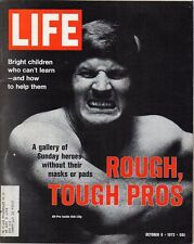 LIFE Oct 6 1972 NFL Football Pros, Woody Allen, George McGovern, Bob Lilly