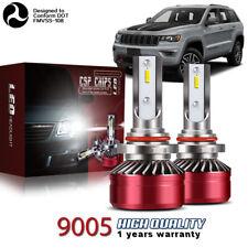 MINI 9145 9140 H10 LED Headlight Bulb Kit 60W 12000LM 6000K Fog Driving Light DW