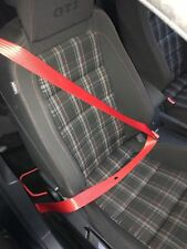 Volkswagen Seat Belts RED GOLF GTI R32 MK3 MK4 MK5 MK6 MK7 JETTA R T4