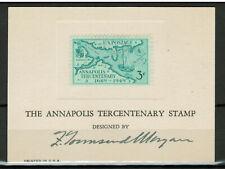 More details for united states 1949 annapolis tercentenary 3¢ scott #984 - artist signature #5082