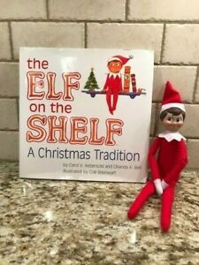 Elf on the Shelf: A Christmas Tradition Story Book & Scout Elf LIGHT BOY Doll