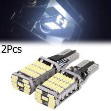 2 x T15 W16W 45 SMD 4014 Error Free Canbus LED Car Reverse Back Light Bulb White