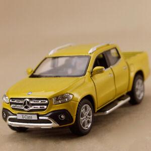 2017 Mercedes Benz X Class Dual Cab Ute Mustard Gold 1:42 12.5 DieCast PullBack