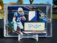 PARRIS CAMPBELL 2020 Panini Spectra Aspiring ROOKIE Auto INDIANAPOLIS COLTS