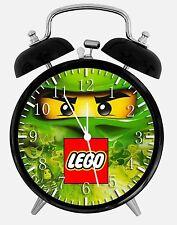 """Lego Ninjago Ninja Alarm Schreibtisch Uhr 3.75"""" Home Office Decor W460 Nizza für Geschenk"""