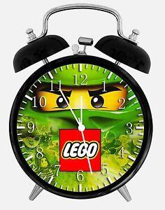 """Lego ninjago Alarm Schreibtisch Uhr 3.75 """" Heimbüro Dekor W460 Schön für"""