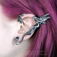 Alchemy - Fairy Grove Left Ear Wrap Pewter Earring Gothic Jewellery Gift Fantasy