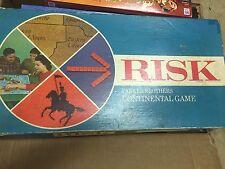 Vintage Parker Brothers Castle Risk Continental Board Game