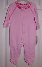 Baby Girl Pink Army Hunting Digital Camo 0-3 Months Sleeper Crawler Long Sleeve