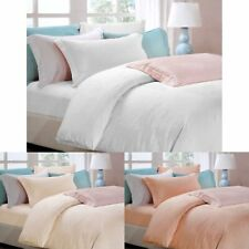 6 Pce 900TC Pure Tencel Love Roses Jacquard Quilt Cover Set + Fitted + B/cov