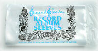 """100 Poly Outer Sleeves 3 Mil High Quality 12"""" Record LP Album Cover 33 RPM Vinyl"""