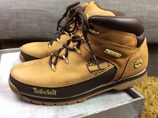 Timberland Leather Boots Unisex Size Uk 6 Good Used Condition #so
