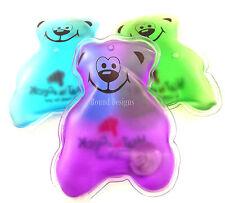 2 x calore in un clic Riutilizzabile Piccolo Calore Pad Hand Warmers Stocking Filler Bear