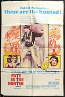 FATE IS THE HUNTER Glenn Ford ORIGINAL 1964 ONE 1 Sheet Movie Poster 27 x 41