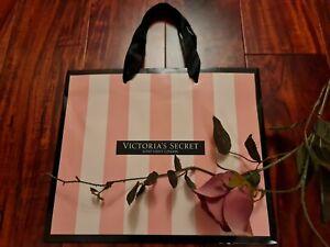 Victorias Secret ☆BOND STREET MEDIUM SIZE STRIPED PAPER GIFT BAG 28X23X12.6CM☆