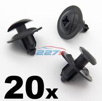 20x Wheel Arch Lining & Splashguard Clips for Ford Fiesta, KA & Ecosport 1738233