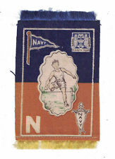 NAVY Athlete & College Seal Tobacco Felt Track & Field Hurdle 1910 B33 Murad