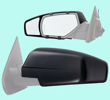 2 CLIP-ON TOWING MIRRORS tow extension side rear view hauling extender Chevy two