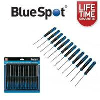 BlueSpot 12 Piece Precision Screwdriver and Pick Set 07917
