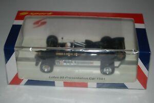 Spark Models 1/43 Lotus 88 Presentation Car 1981 with Colin Chapman MiB