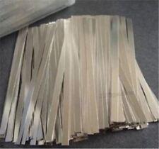 500Pcs Nickel Plated 0.1X10X100MM Strip Sheet For Battery Spot Welder Steel hh
