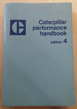 Caterpillar Performance Handbook - Edition 4 - Jan 1974