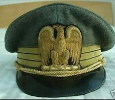 WW2 WWII ITALIAN FASCIST OFFICER VISOR / HAT / CAP Reproduction