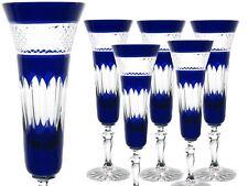 Sektgläser Römer Bleikristall 6er (443OBG-Blau) Römer Sektgläser Kristall