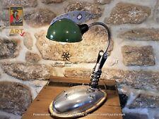 The BSA Bantam Motorbike Lamp, angle poise, steampunk,industrial lighting