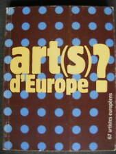 67 jeunes artistes européens en résidence EXPO La Défense art(s) d'Europe 1994