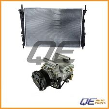 Jaguar X-Type 2002 2003 2004 2005 2008 Nissens Radiator + A/C Compressor