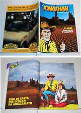 TEX WILLER su JONATHAN Dimensione avventura anno 4 N. 11 1988 Vecchio West