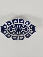 Royal Crown Derby Unfinished Imari Trinket Dish, Appr. 13x9cm