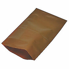 "Grainger Approved Uv Protective Bags,12"" W x 18"" L,Pk1000, 5Cyh6, Amber"