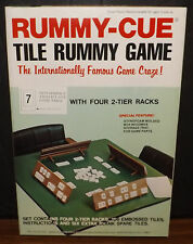 Vintage 1977 Rummy-Cue Tile Rummy Game 100% Complete Brand New No. 1212 MIB
