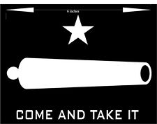 Come and Take It - Patriotic Car Decal (Choose any color!) premium cutout vinyl
