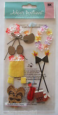~LUAU~ Jolee's Boutique Dimensional Stickers; HAWAII HAWAIIAN tropical vacation
