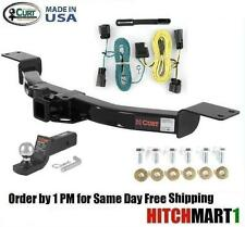 """FITS 2009-2012 CHEVY TRAVERSE CLASS 3 CURT TRAILER HITCH PACKAGE 2"""" FUSION MOUNT"""