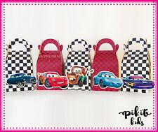 DISNEY CARS PARTY FAVOUR BOXES KIDS BIRTHDAY LOLLY LOOT BAGS SUPPLIES DECORATION