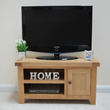 4a89cd87a0f Oak TV Stand   Oak Plasma TV Unit   New   Solid Wood   Chunky Top