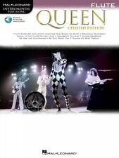 Queen Updated Edition Flute Instrumental Play-Along Book and Audio 000285402