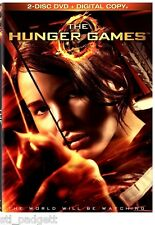The Hunger Games NEW 2-Disc DVD Set + Digital Copy Ultra Violet  in Slipcover