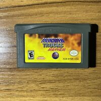 Monster Trucks Mayhem (Nintendo, Gameboy Advance) GBA Cart Only Authentic TESTED