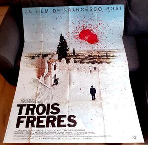 Trois frères - Philippe NOIRET / Francesco ROSI - Affiche Cinéma (120x160)