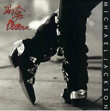 MICHAEL JACKSON  Dirty Diana / Dirty Diana instrumental 45 with PicSleeve