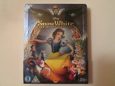 Snow White and the Seven Dwarfs Steelbook (Blu-ray)Region Free A,B,C OOP  Disney