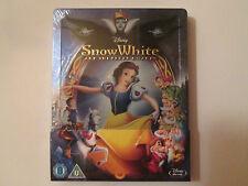 Snow White and the Seven Dwarfs Steelbook (Blu-ray)Region Free OOP NEW Disney