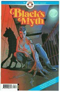 Black's Myth #1 1:3 Variant Cover NM- 1st Print Ahoy Comics